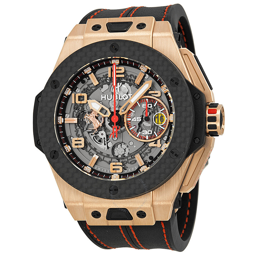 Hublot Ferrari King Automatic Openwork Dial 18kt Rose Gold