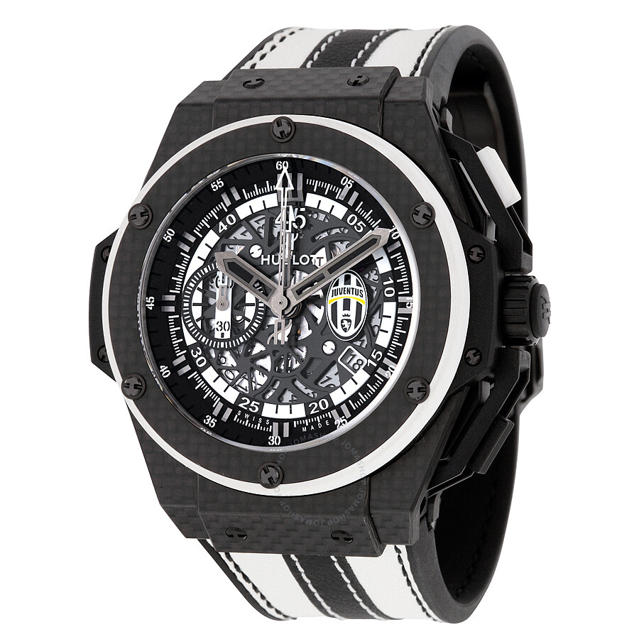 Hublot King Power Watches Jomashop Seiko Two Tone Analog Watch Original Brand New Juventus Mechanical Limited Edition Mens