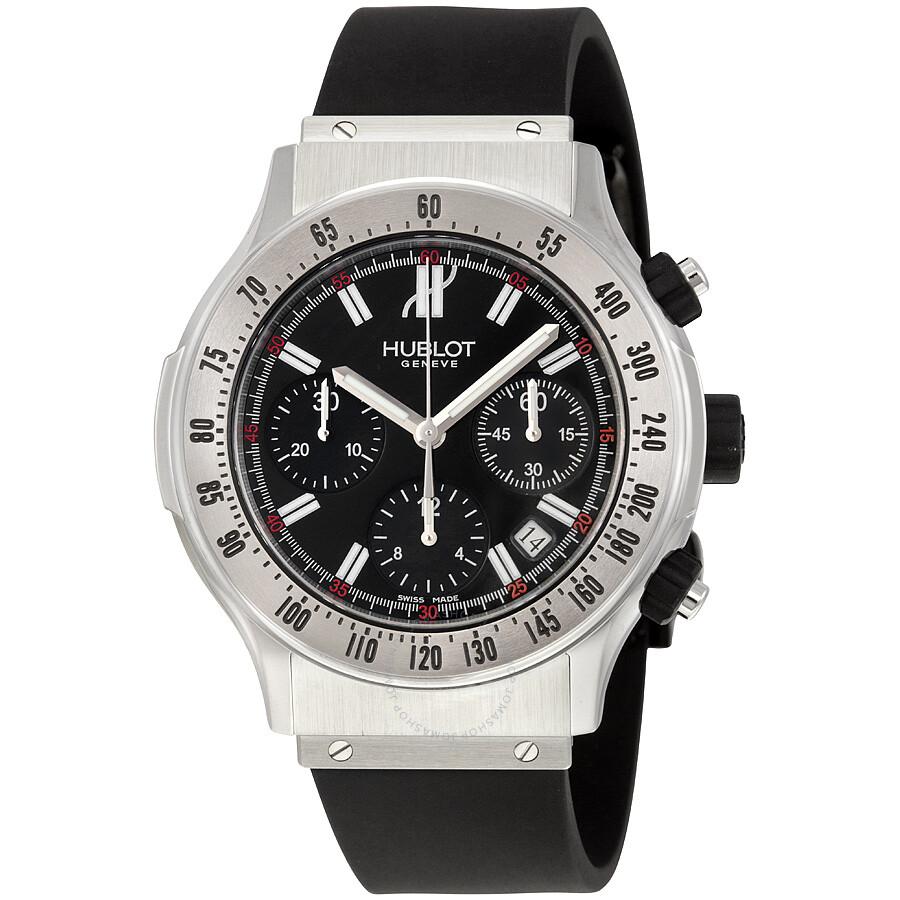 Hublot super b automatic chronograph black dial men 39 s watch 1921 nl40 1 hublot watches for Hublot watches