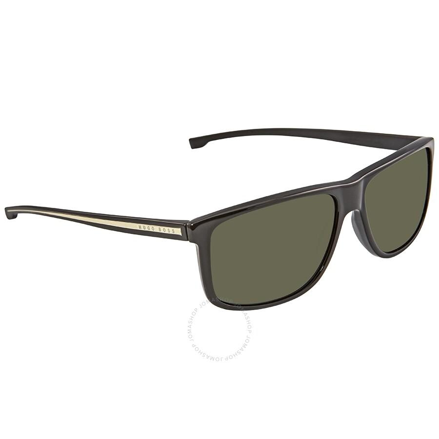 cdac38a9205a Hugo Boss Green Rectangular Sunglasses BOSS 0875/S YPP 60 - Hugo ...