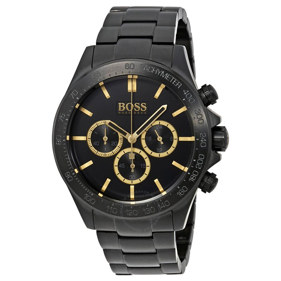 Hugo boss ikon chronograph men 39 s watch 1513278 hugo boss watches jomashop for Hugo boss watches