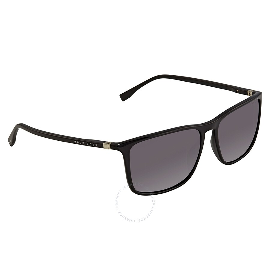 4ad05fc5c2eb Hugo Boss Smoke Polarized Square Sunglasses BOSS 0665/S D28 57 ...