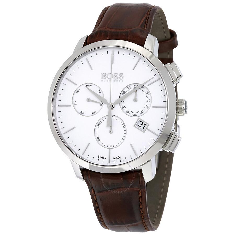 95f08af2984 Hugo Boss Swiss Made Slim Chronograph Men s Watch 1513263 - Hugo ...