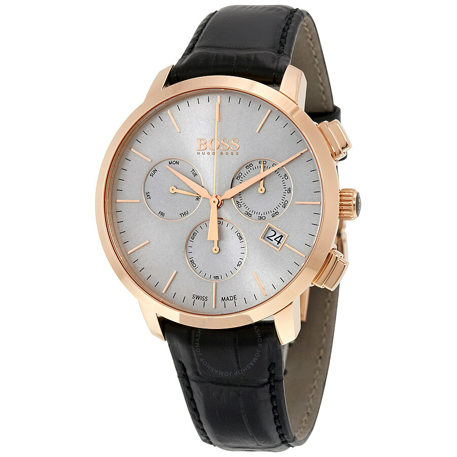 bf0847b73f2 Hugo Boss Swiss Made Slim Chronograph Men s Watch 1513264 - Hugo ...