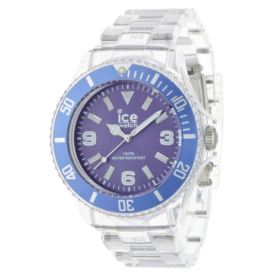 Ice Pure Purple Dial Plastic Men's Watch PU PE B P 12