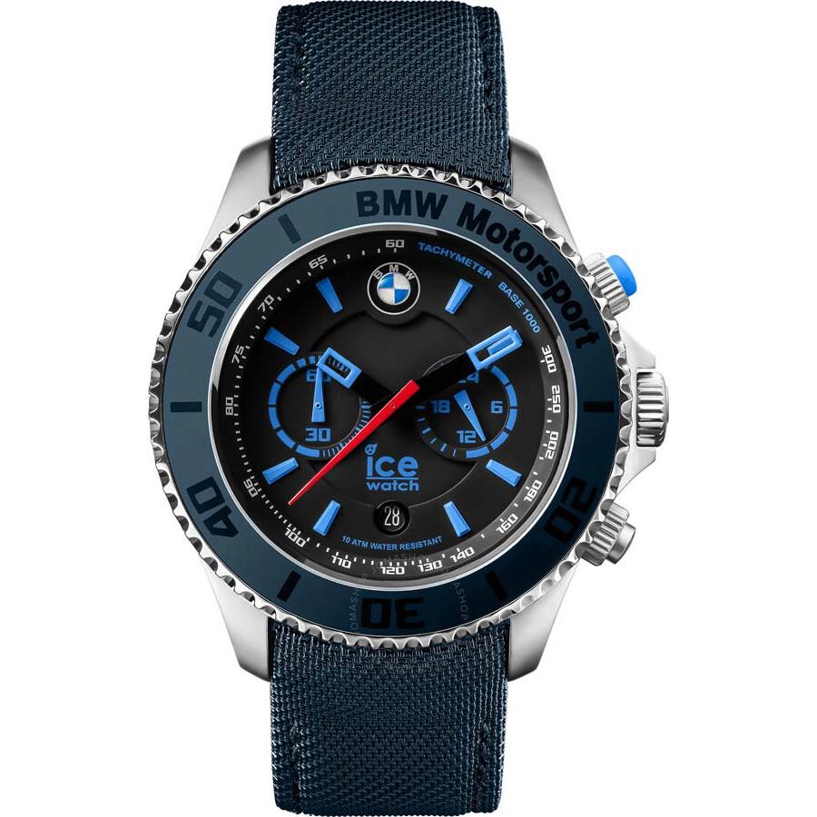 2aa42a6156284 Ice-Watch BMW Motorsport Chronograph 48 mm Blue Dial Men s Watch BM ...