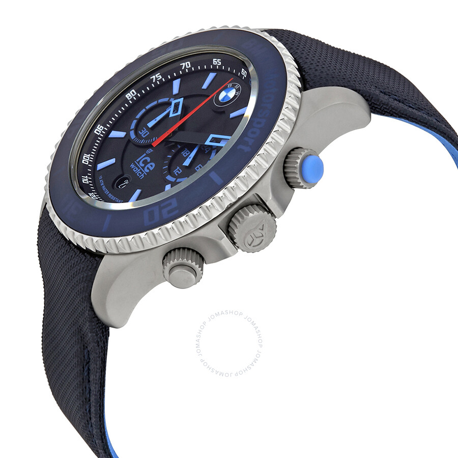 ice watch bmw motorsport chronograph 48 mm blue dial men 39 s watch bm ch blb b ice watch. Black Bedroom Furniture Sets. Home Design Ideas