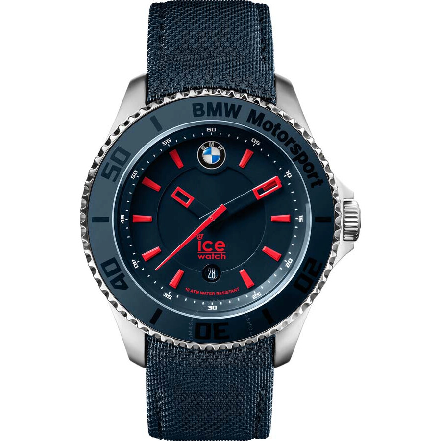 6d1a5d1a367f Ice-Watch BMW Motorsport Navy Blue Dial Men s 43 mm Watch BM.BRD ...