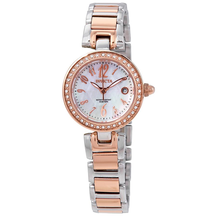 Invicta angel crystal ladies watch 13613 angel invicta watches jomashop for Crystal ladies watch