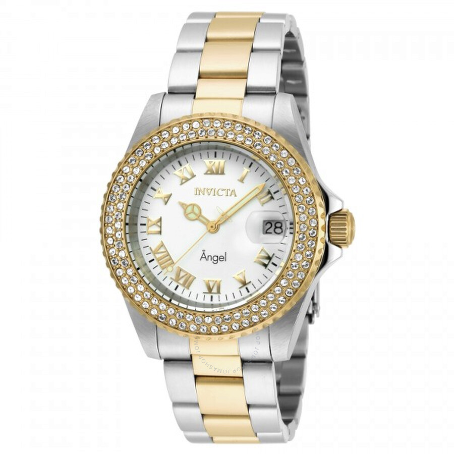 how to set invicta angel watch
