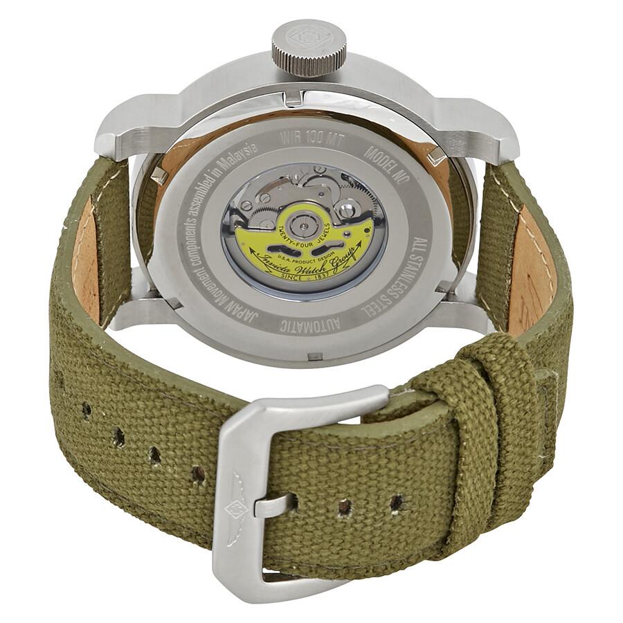 5dfbf9bf9 ... Invicta Aviator Automatic Black Carbon Fiber Dial Men's Watch 23073