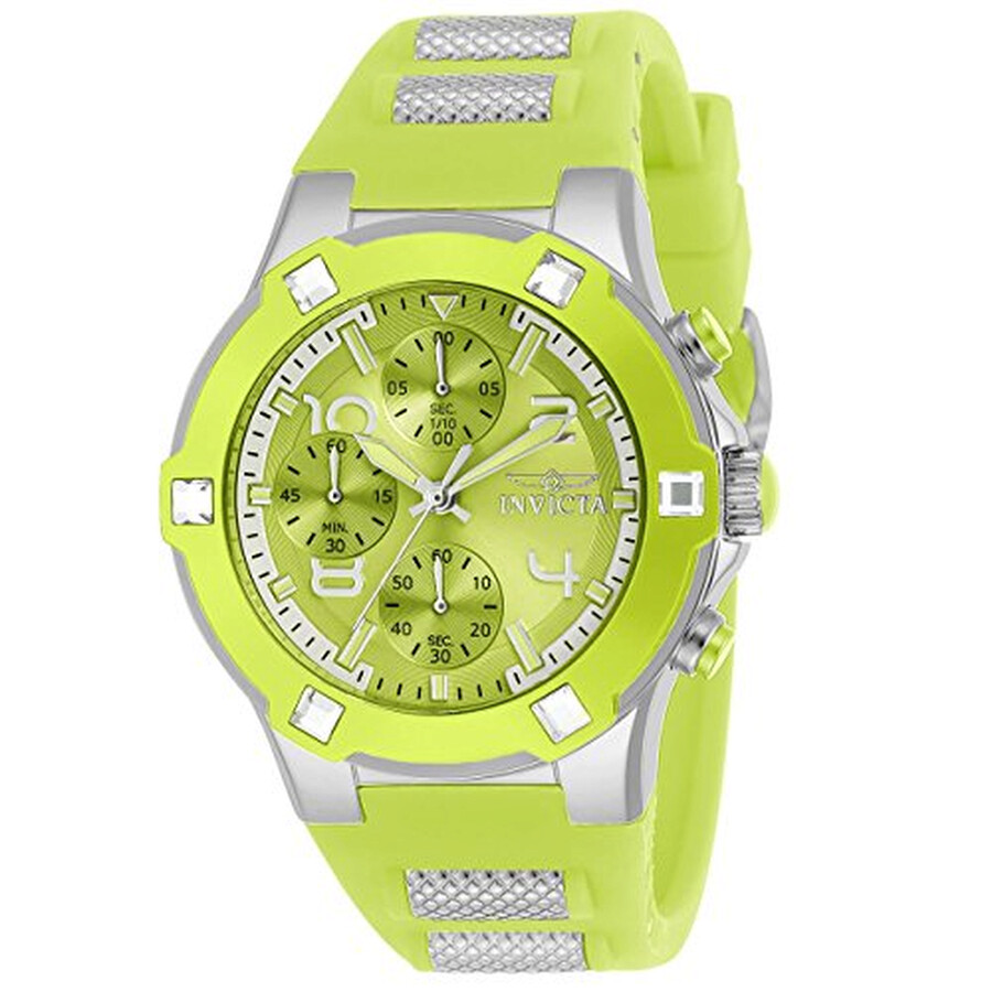 65430375f5f1 Invicta BLU Green Chronograph Ladies Watch 24196 - Blu - Invicta ...