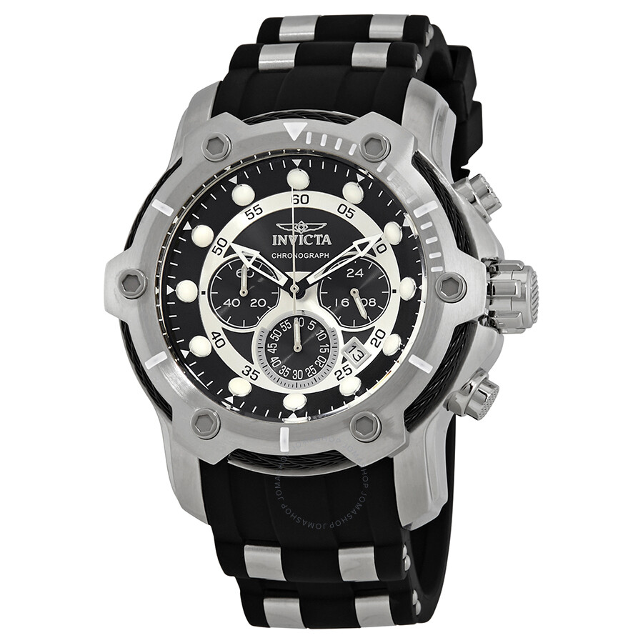 c602410f3 Invicta Bolt Chronograph Black Dial Men's Watch 26764 - Bolt ...
