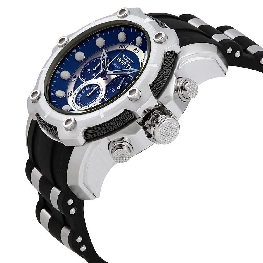 1a6bece9c Invicta Bolt Chronograph Blue Dial Men's Watch 26750 - Bolt ...