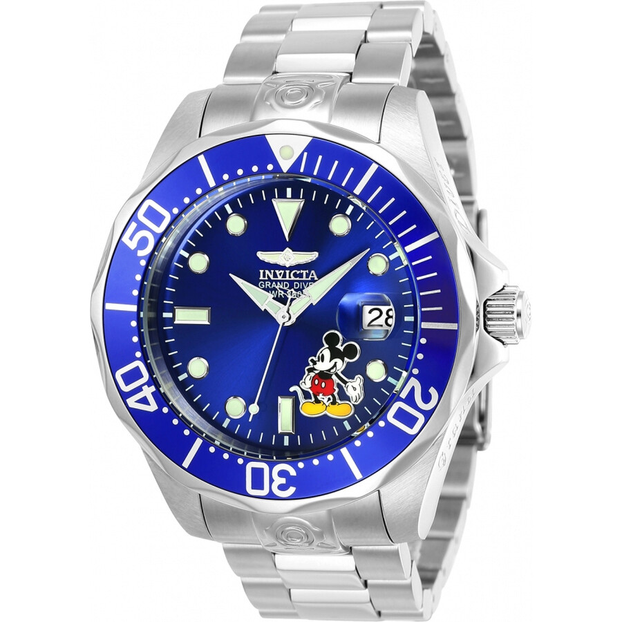 869235afc09 Invicta Disney Limited Edition Automatic Blue Dial Men s Watch Item No.  24497