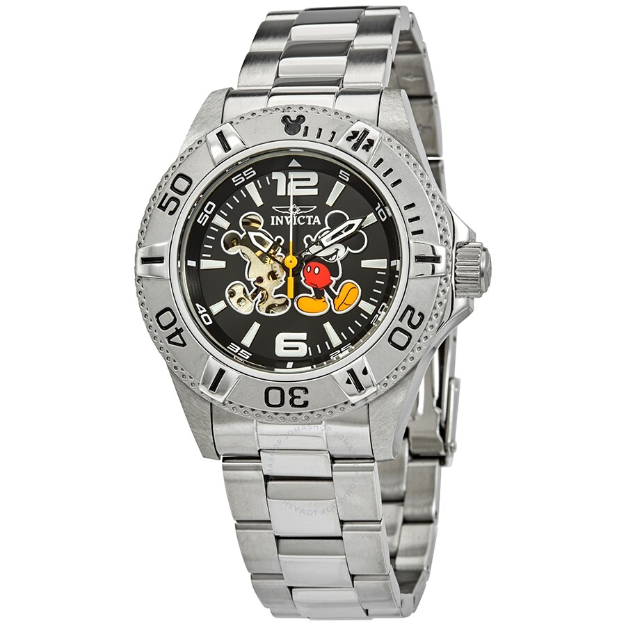 2f96bfbd401 Invicta Disney Limited Edition Mickey Mouse Automatic Men s Watch Item No.  27407