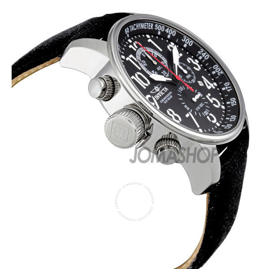 fdf0a92db Invicta Lefty Force Chronograph Black Dial Men's Watch 1512 - Force ...