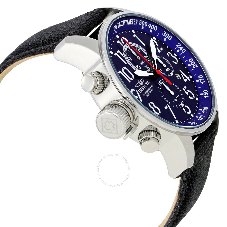 01d2b1757 ... Invicta Lefty Force Chronograph Blue Dial Stainless Steel Men's Watch  1513 ...