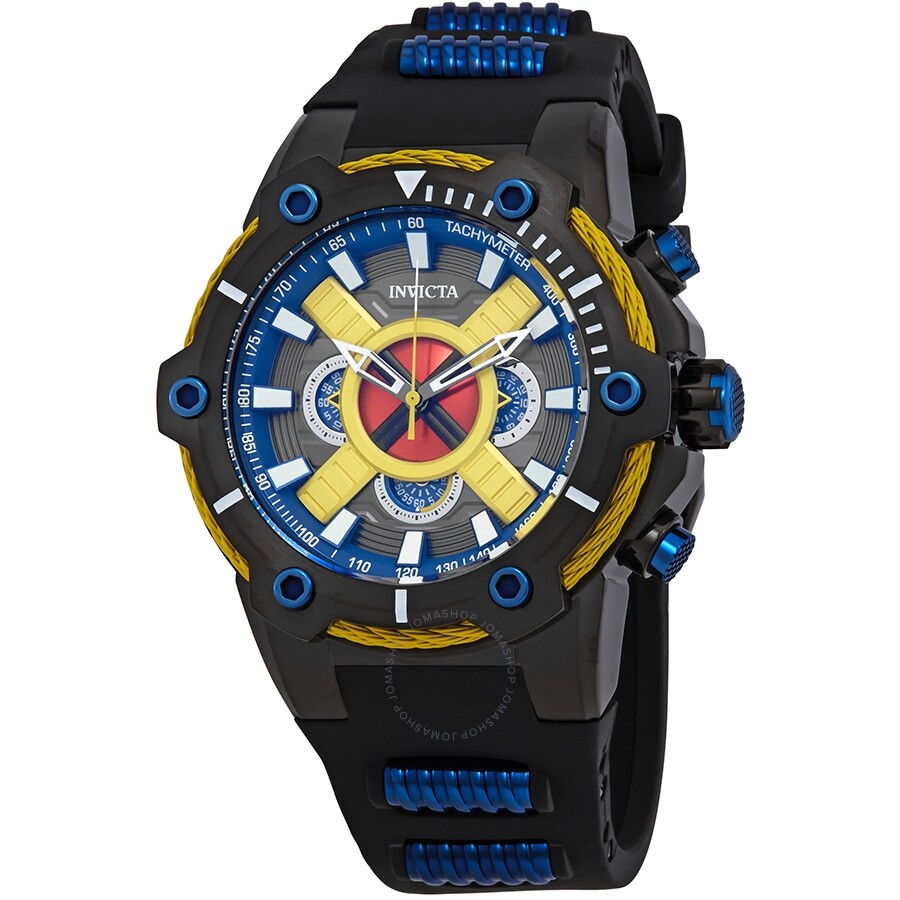 ff483932aa6 Invicta Marvel Chronograph Black Dial Men s Watch 27488 - Marvel ...
