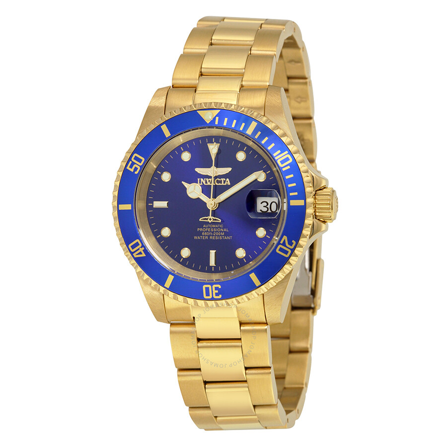 Invicta Watch 8930ob on Fill Up Sign