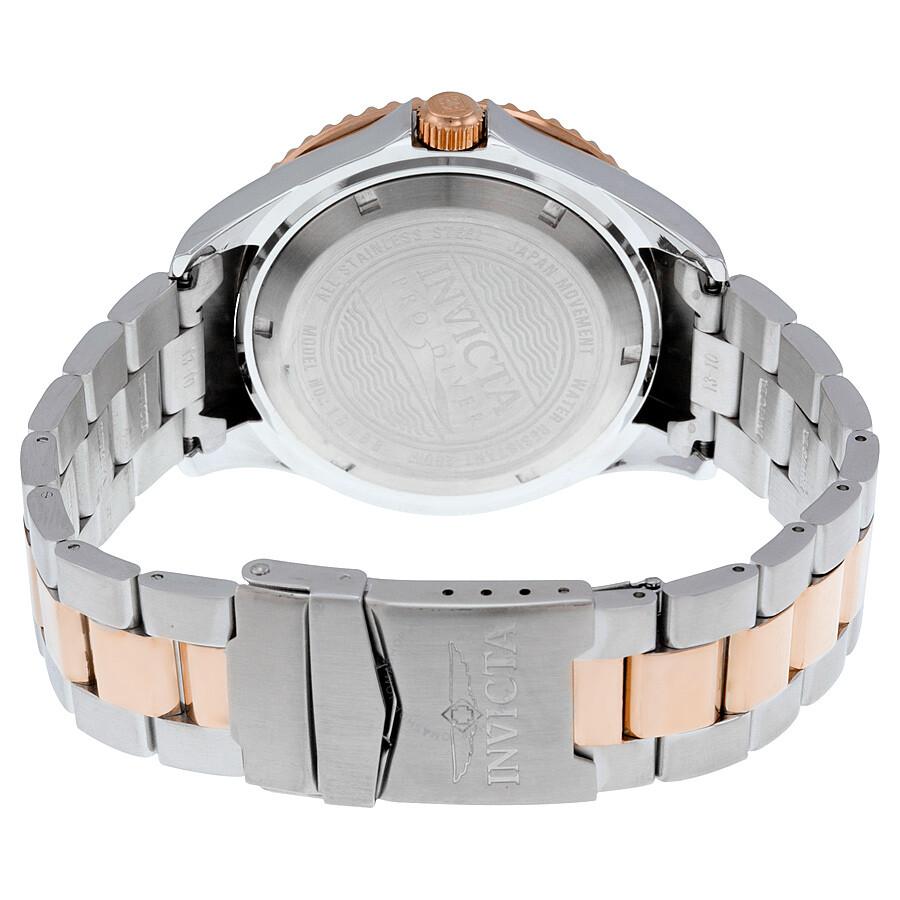 invicta menaposs 15169 two tone pro diver watch
