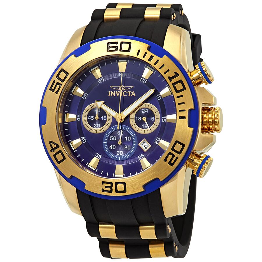 7ce13c881c1 Invicta Pro Diver Chronograph Blue Dial Men s Watch 22313 - Pro ...