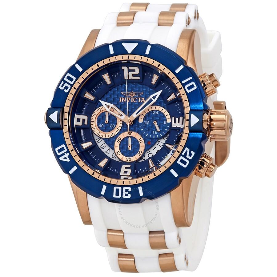 e61d0af31 Invicta Pro Diver Chronograph Blue Dial Men's Watch 23709 - Pro ...