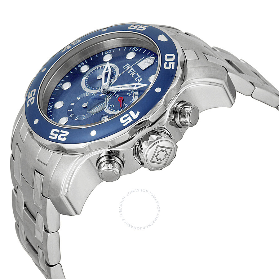 88e45ff224d Invicta Pro Diver Chronograph Blue Dial Men s Watch 0070 - Pro Diver ...