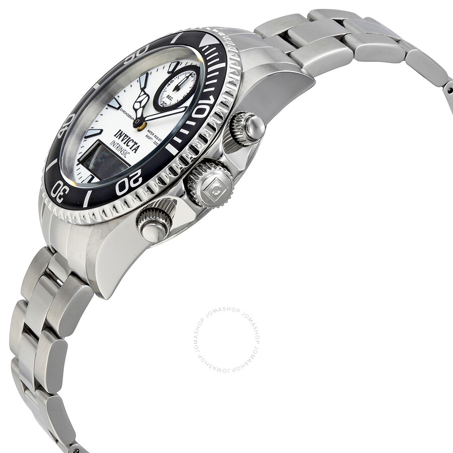 Invicta Pro Diver White Dial Stainless Steel Men's Watch 12470