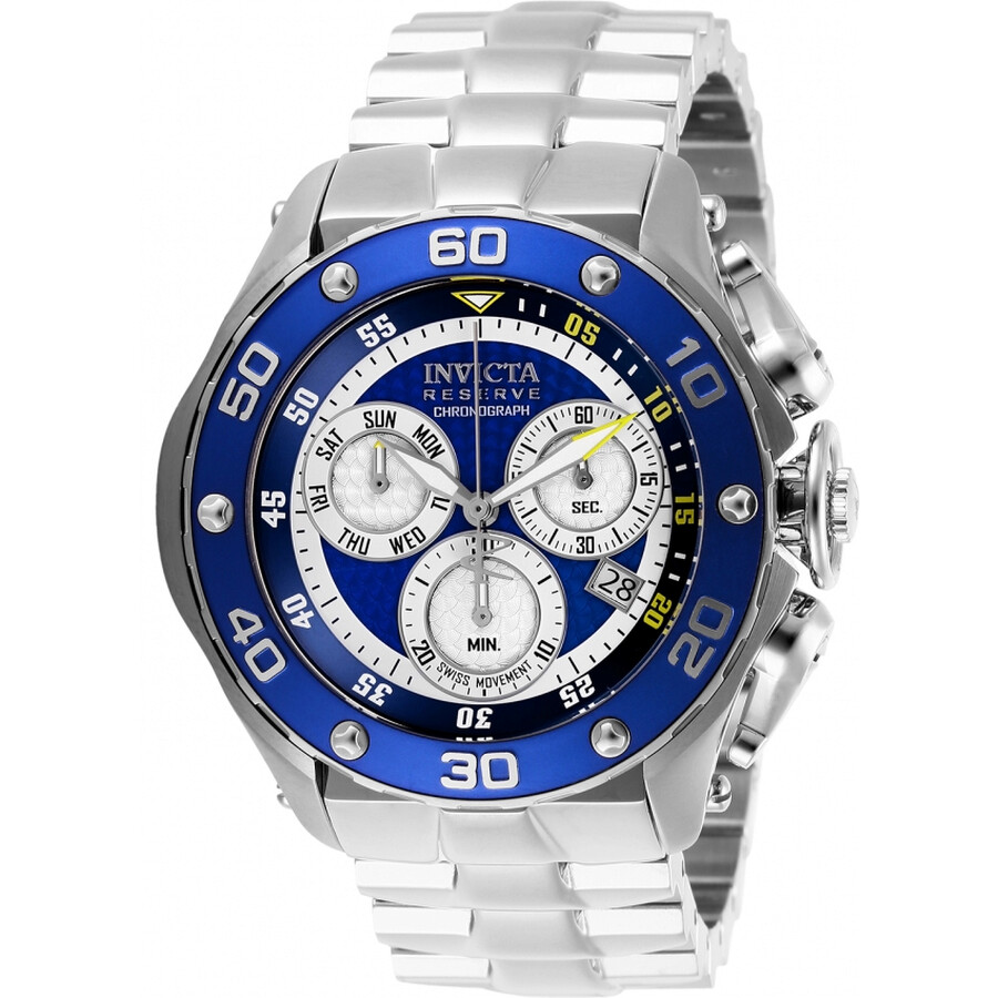 cfe6e8dda Invicta Reserve Chronograph Blue Dial Men's Watch 26567 - Reserve ...