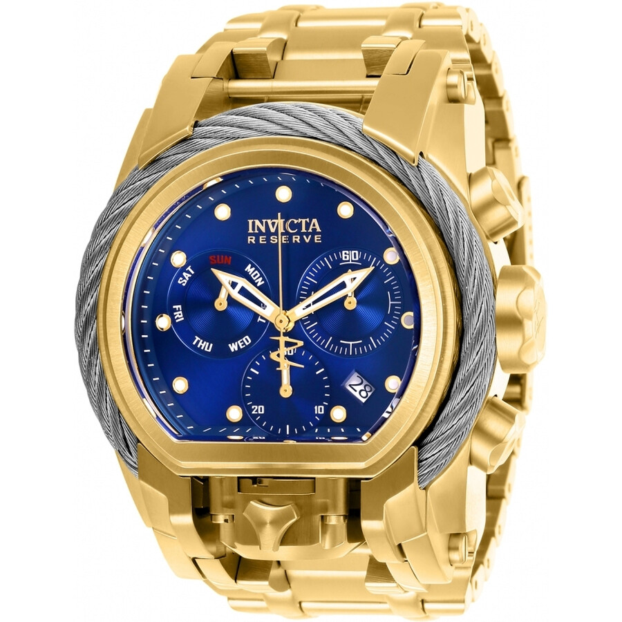 d3d0255d6 Invicta Reserve Chronograph Blue Dial Men's Watch 26585 - Reserve ...