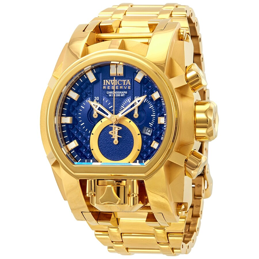 587b55724 Invicta Reserve Chronograph Blue Dial Men's Watch 25209 - Reserve ...