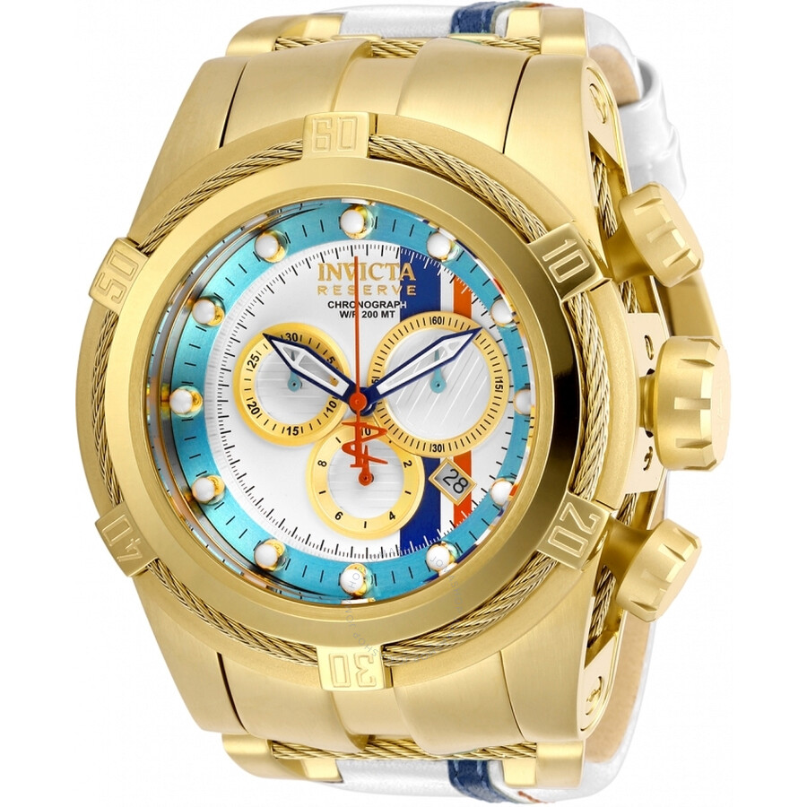 bedf0628d Invicta Reserve Chronograph Quartz Blue Dial Men's Watch 29051 ...