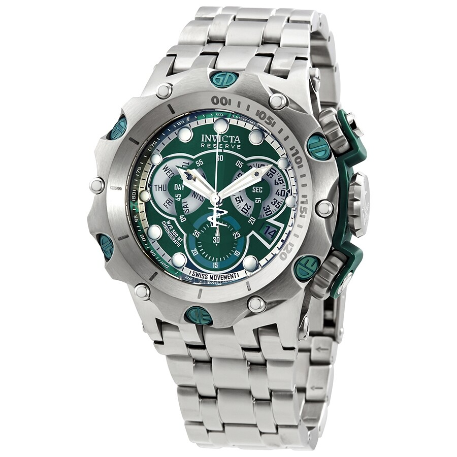 Invicta Reserve Venom Chronograph Green Dial Men s Watch 27788 ... 3be2fbfb5a7