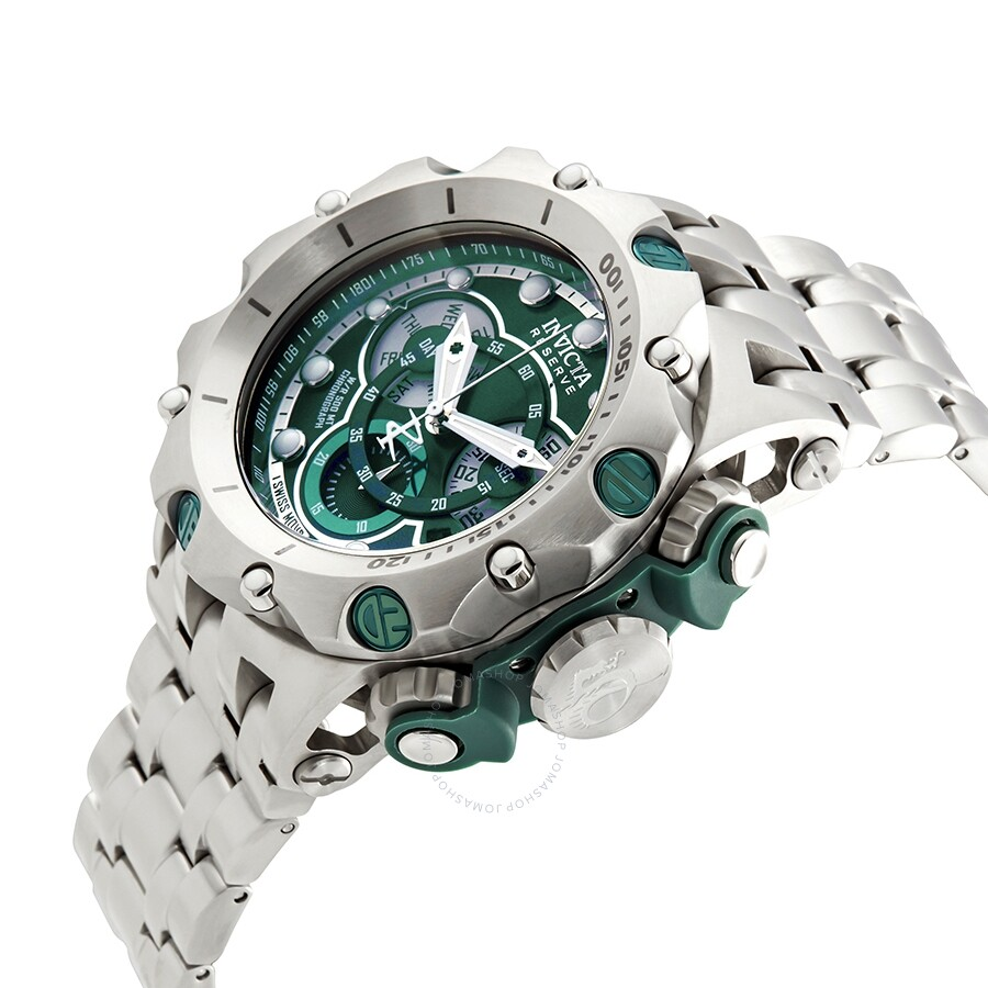... Invicta Reserve Venom Chronograph Green Dial Men s Watch 27788 ... 3bbae546e7f