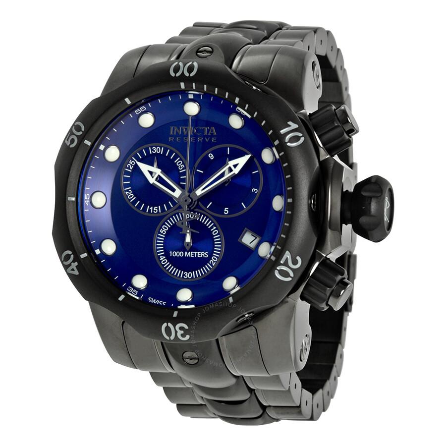 invicta reserve venom collection chronograph blue