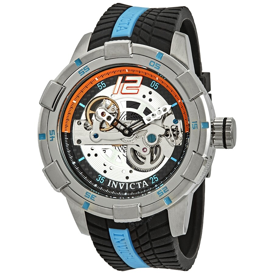 20c81ce92 Invicta S1 Rally Automatic Silver Dial Men's Watch 26618 - S1 Rally ...