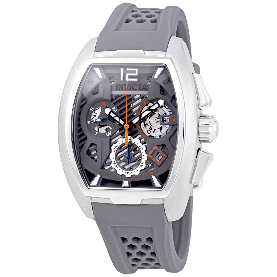 116b9a420 Invicta S1 Rally Chronograph Grey Dial Men's Watch 26885 - S1 Rally ...