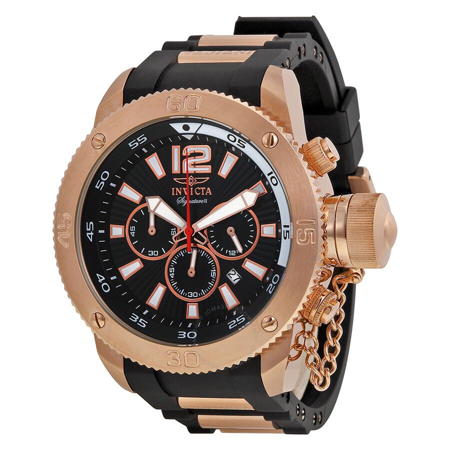 666284f33fd Invicta Signature II Russian Diver Chronograph Men s Watch 7428 ...