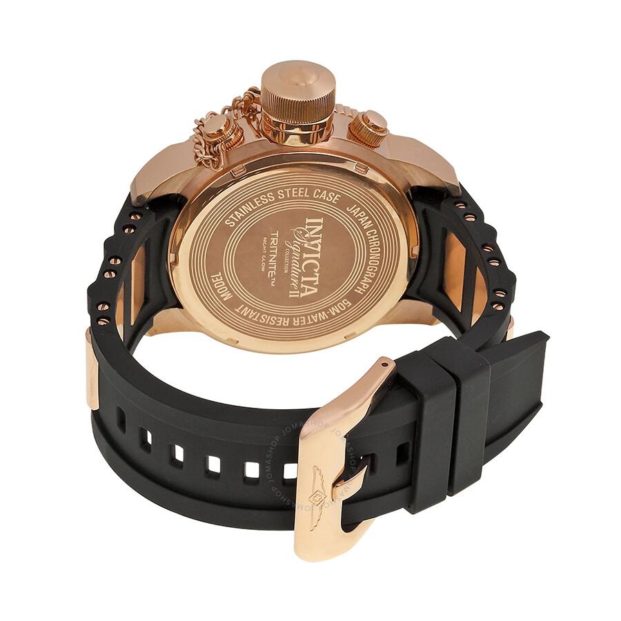 912b13ac459 ... Invicta Signature II Russian Diver Chronograph Men s Watch 7428 ...
