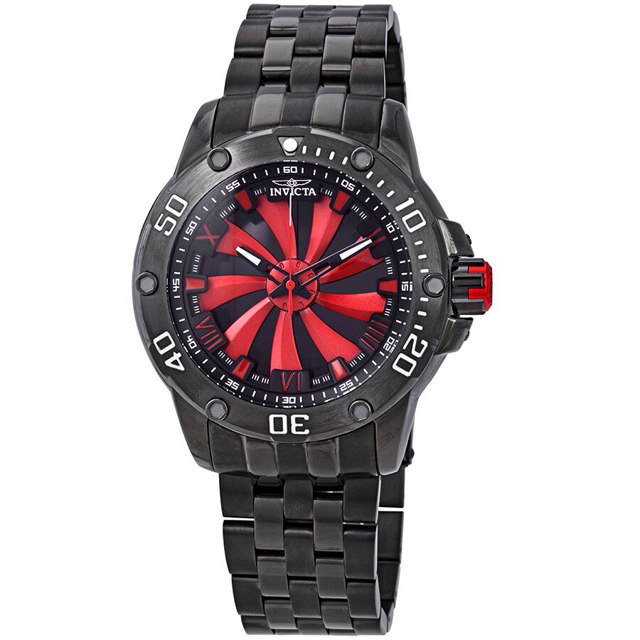 90a97aee8 Invicta Speedway Automatic Red and Black Dial Men's Watch 25849 ...