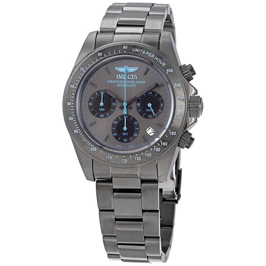 4df0c4133 Invicta Speedway Chronograph Gunmetal Dial Men's Watch 27772 ...