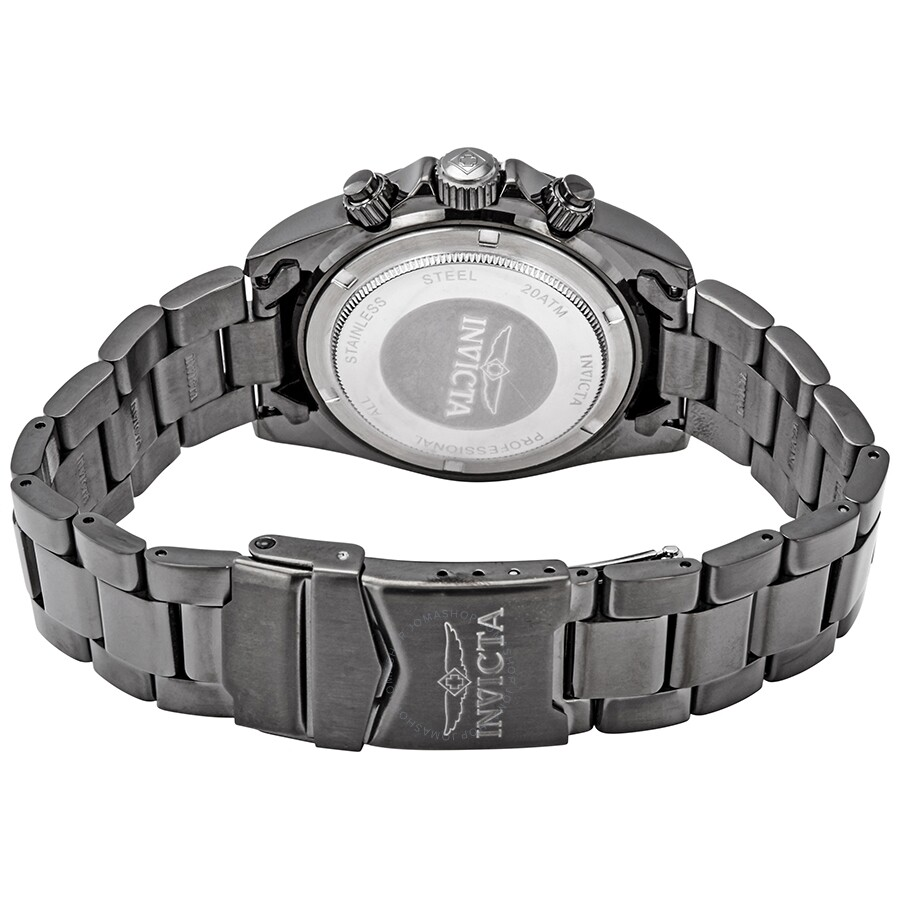 a4d0d0f83 ... Invicta Speedway Chronograph Gunmetal Dial Men's Watch 27772