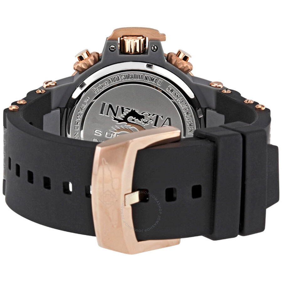 27b63642e59 ... Invicta Subaqua Noma III Grey Dial Black Rubber Men s Watch 0932 ...
