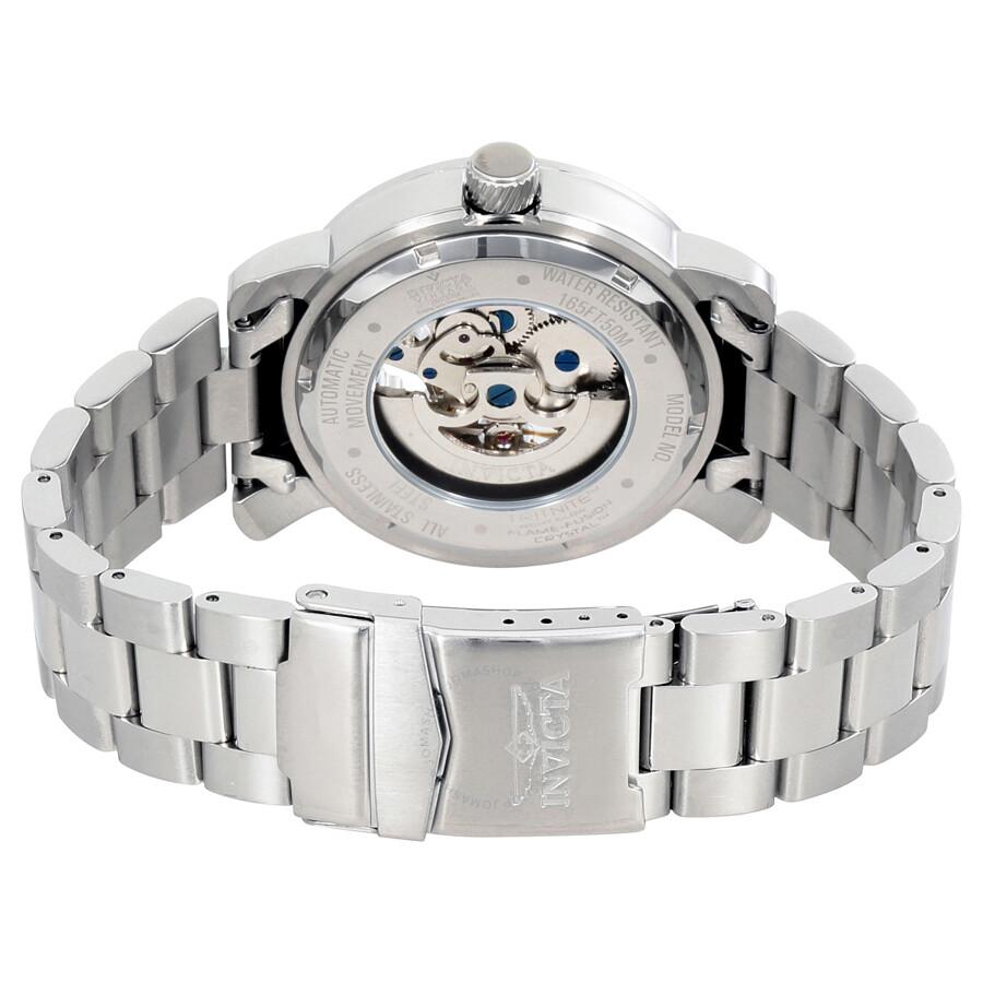 Invicta vintage objet d art automatic black dial men 39 s watch 22574 obje - Objet vintage occasion ...