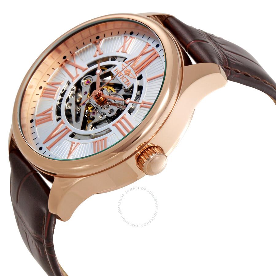 Invicta vintage objet d art automatic silver dial men 39 s watch 22569 obj - Objet vintage occasion ...