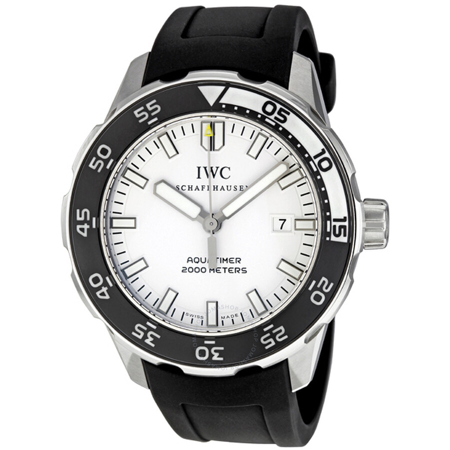 Iwc Aquatimer White Dial Review