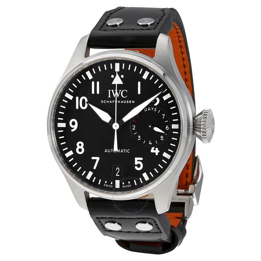 9cf70f1f4 IWC Big Pilot Black Dial Automatic Men's Watch