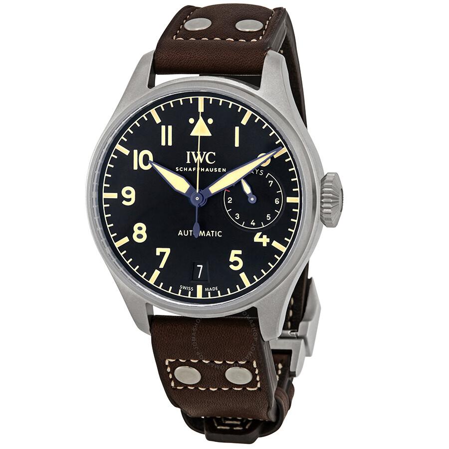 IWC Big Pilots Automatic Black Dial Men's Watch IW501004