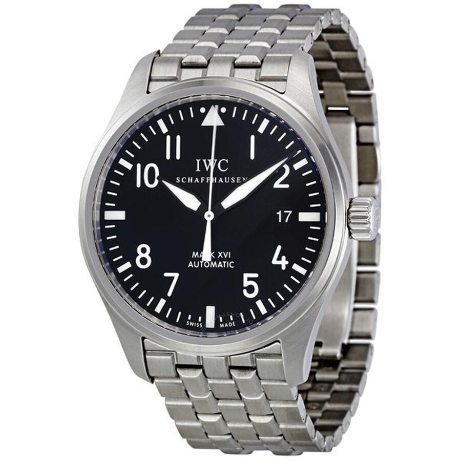 085da186bc9 IWC Classic Pilot Mark XVI Steel Men's Watch IW325504 - Pilot - IWC ...